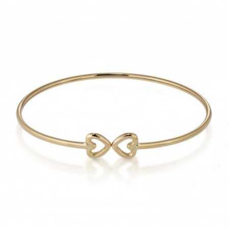 Gold Bracelet GOLD HEART BASIC FINO