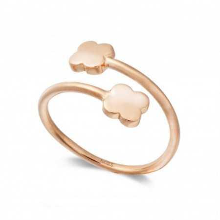 Gold ring BASIC GOLD CLOVER TU ME