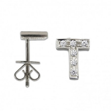 Piercing initial letter T