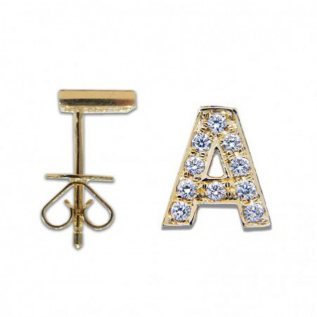 Piercing initial letter A
