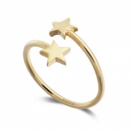 Gold ring BASIC GOLD STAR TU ME