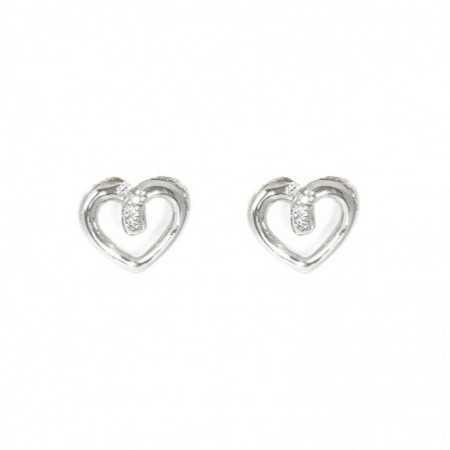 QUEEN OF HEARTS Heart Earrings