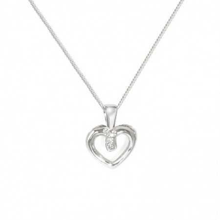 QUEEN OF HEARTS heart pendant