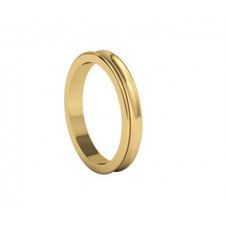 copy of ATENEA Yellow Gold Wedding Alliance