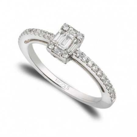Engagement ring ANNIVERSARY WEDDING BAND