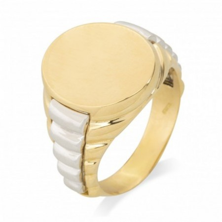 Gold Seal Bicolor Oval Gallones