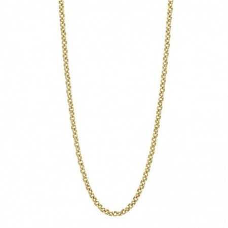 18kt gold chain ESLABON 8x6 OVAL 70cm