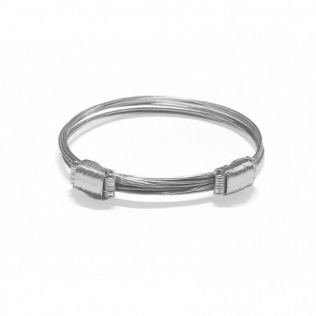 White Gold Bracelet KNOT slide 8 THREADS