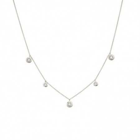 Gold necklace bezels CELEBRITY
