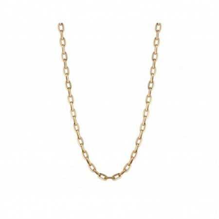18kt Gold Chain 50cm ESLABON DAILY