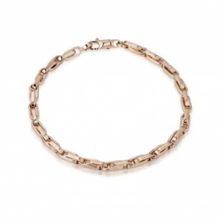 18kt Rose Gold Bracelet 18cm DAILY