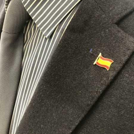 Gold Pin FLAG SPAIN