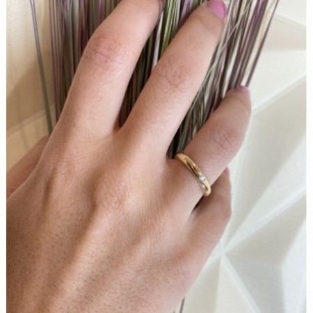 Wedding alliance ISIS DIAMOND 0.06