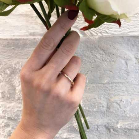 Wedding alliance ISIS DIAMOND 0.02