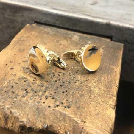 18kt Gold twins CHAPA BOTTLE