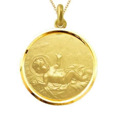 copy of Medalla Niño Jesús Oro 18KT
