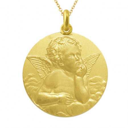 Medalla Ángel Serafín Oro 18kt