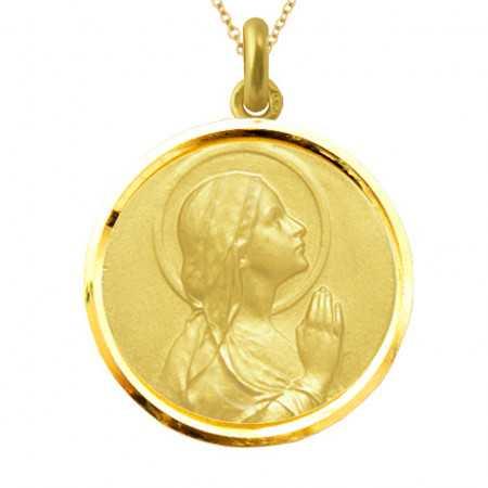 copy of Medalla Virgen Velo Oro 18kt