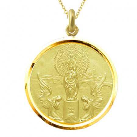 copy of Medalla Virgen del Pilar Oro 18kt