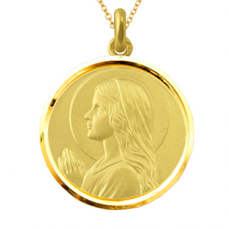 copy of Medalla Virgen Niña Oro 18kt
