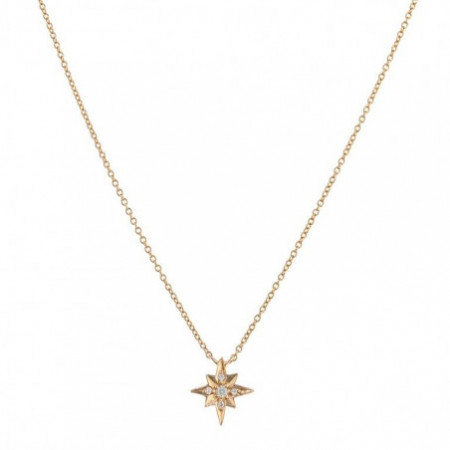 Gold necklace Shooting Star LITTLE DETAILS