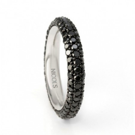 Diamond Ring 2.50ct BLACK POWER