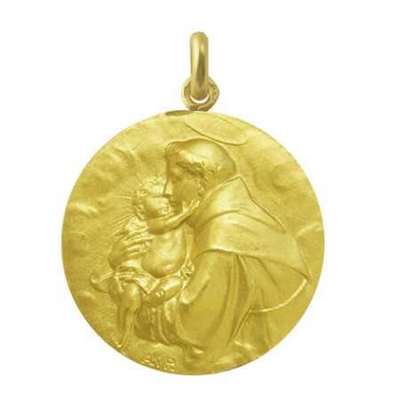 Medalla San Antonio de Padua Oro 18kt