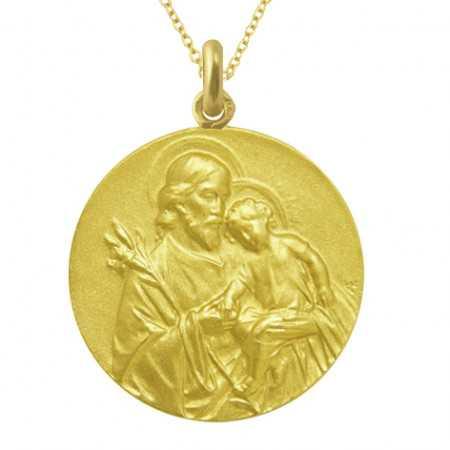 Medalla San José Oro 18 kt.
