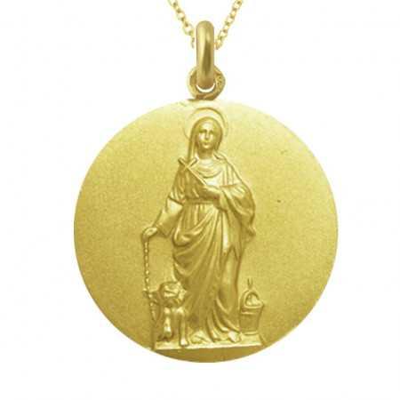 Medalla Santa Marta Oro 18 kt.