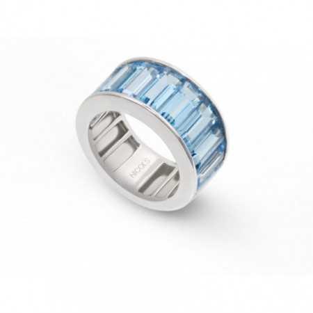 Blue Topaz Ring FLÚOR