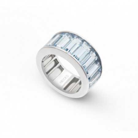 Aquamarine ring FLÚOR
