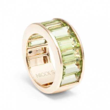 Ring Peridot Green FLUORINE