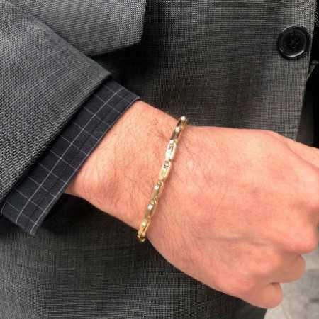 18kt Gold Bracelet 21cm DAILY