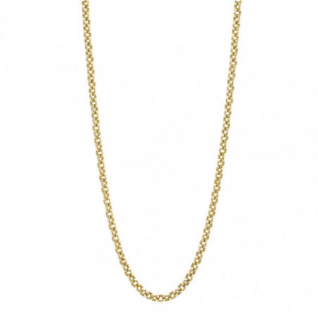 18kt gold chain ESLABON 8x6 OVAL 60cm