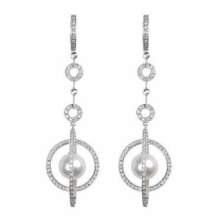 Bride earrings Pearl PEARLS LADY