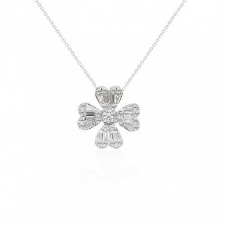 Diamond Necklace CLOVER