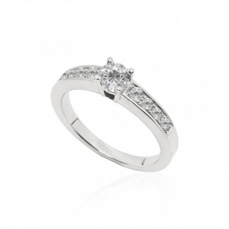 AMELIE Solitaire Ring 0.35ct