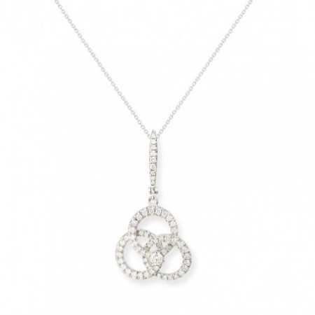 Diamond pendant Circulos ESSENTIALS