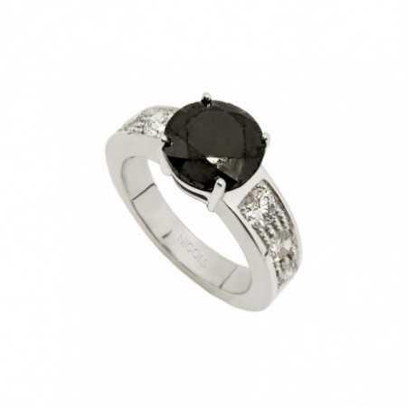 AMELIE Black Diamond Ring