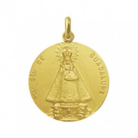 Virgin of Guadalupe Extremadura Medal 18Kt.