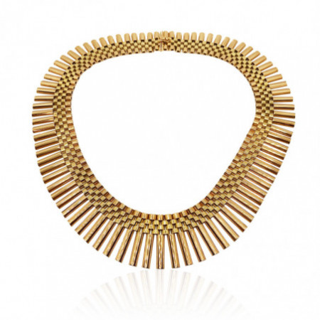 CLEOPATRA Barritas Yellow Gold Necklace