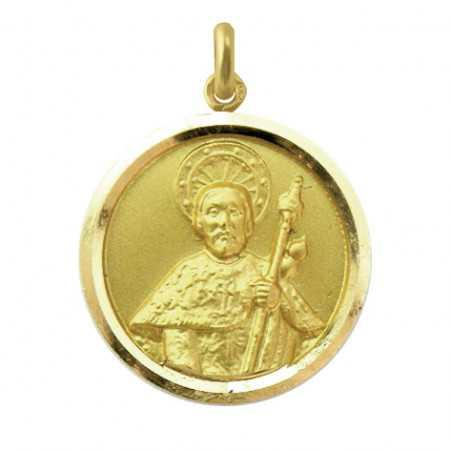 Medalla Santiago Oro 18 kt.