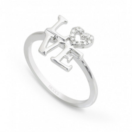 Gold ring LOVE MINI DETAILS