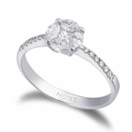 Engagement ring LOVE SPRING MED