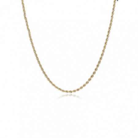 Gold chain 60cm 2.0mm SOLID 18kt CORDON
