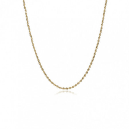 Gold chain 60cm 1.5mm SOLID 18kt CORDON
