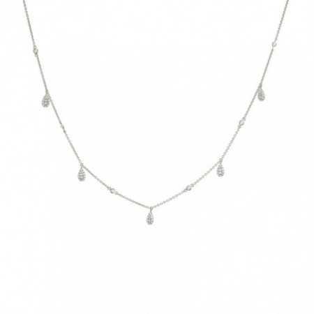 Gold necklace drops CELEBRITY 108
