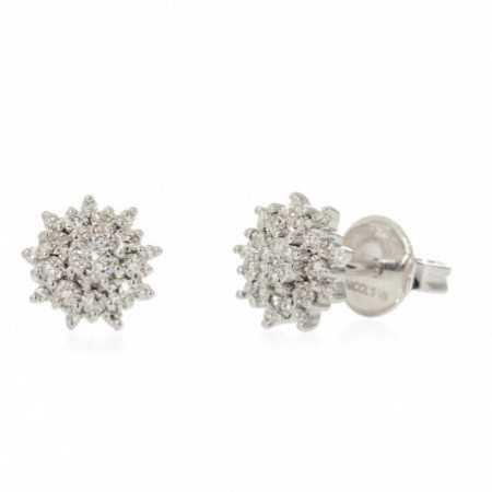 Gold and Diamond Earrings LITTLE DETAILS