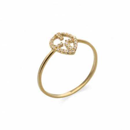 Gold Cross Ring LITTLE DETAILS