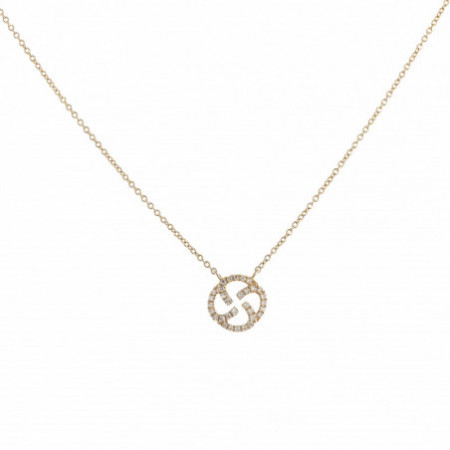 Gold necklace Templar Seal LITTLE DETAILS